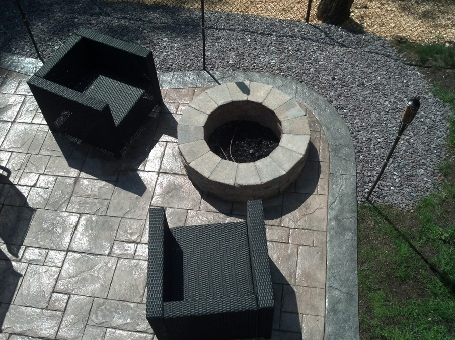 Gallery Fire Pit In A Pool Fire Pit Seating