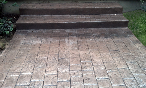 Stamp Concrete Stairs For Ma And Ct
