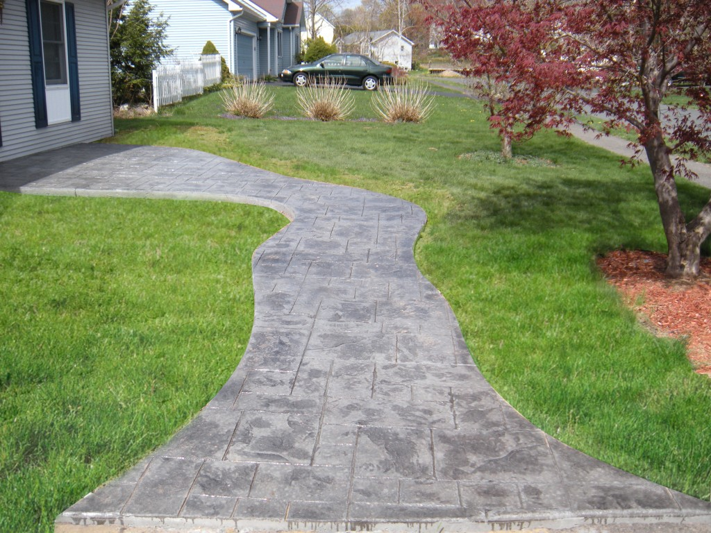 Concrete Walkways in MA and CT
