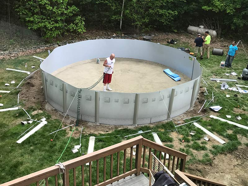 Above Ground Pools Spartan Concrete Services Inc